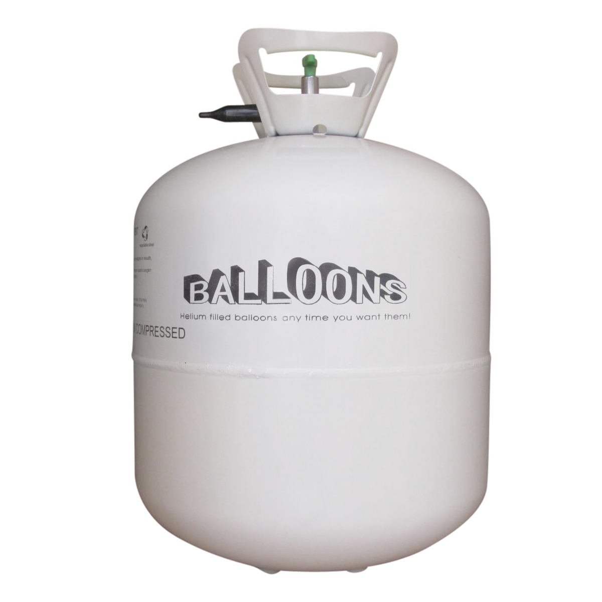 helium ballongas 0 42 m f r ca 50 luftballons 23 cm heliumflasche party gas ebay. Black Bedroom Furniture Sets. Home Design Ideas