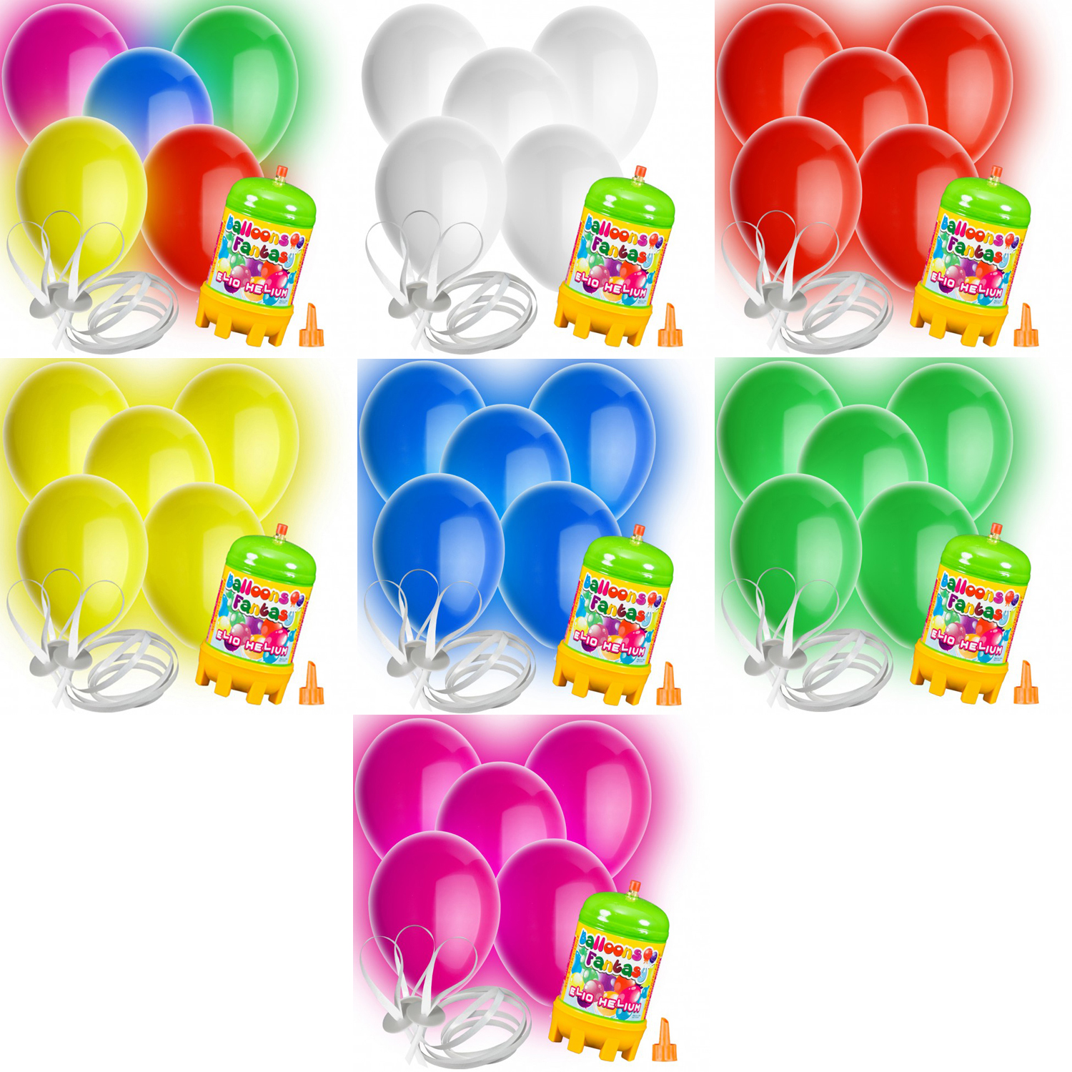 10 luftballons led mit helium ballon gas hochzeit geburtstag komplettset ebay. Black Bedroom Furniture Sets. Home Design Ideas